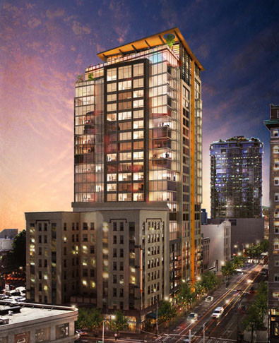 Seattle High Rise Apartments Gorgeous The Viktoria Seattle Apartment Now Available For Preleasing . Design Decoration