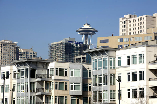 Apartment Buildings In Seattle apartment rents on the rise in seattle and neighboring - urbanash