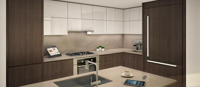 Insignia Condo Seattle Kitchen Design