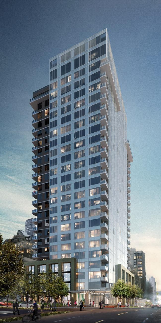 Luma Condo Tower Building First Hill Seattle