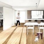 Gridiron Pioneer Square Condo Floorplan