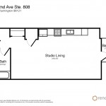 Gallery Belltown Condominium Floorplan