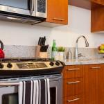 Gallery Condo Belltown Seattle 2911 2nd Ave Studio Kitchen