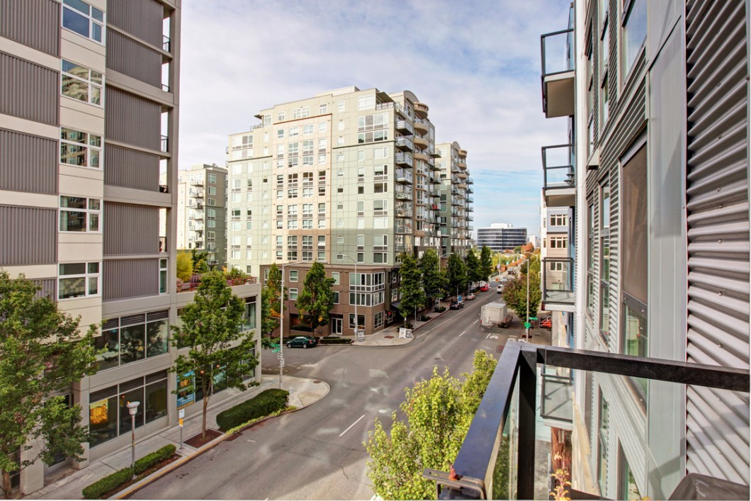 View home at Parc Belltown Condo