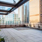 Madison Tower Downtown Seattle Resident Terrace City View