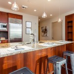 Madison Tower Condo 1000 1st ave #1703 open Kitchen with island