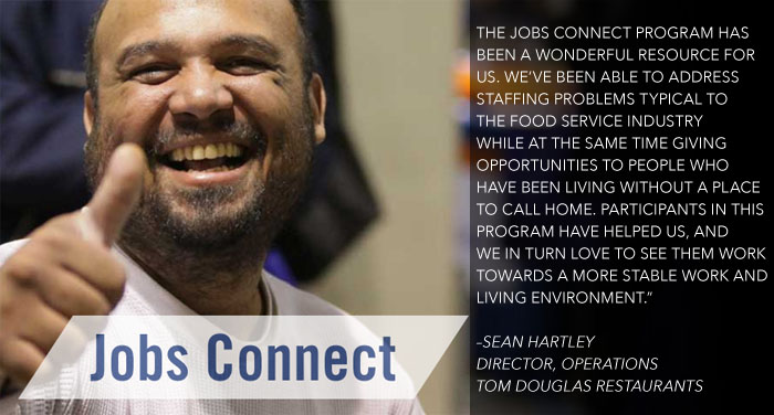 Jobs Connect Seattle - The Path Out of Homelessness