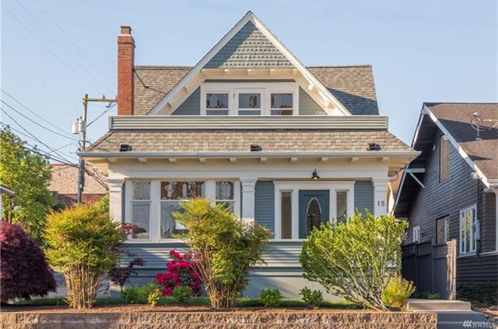 Queen Anne Hill Craftsman McGraw Street Home