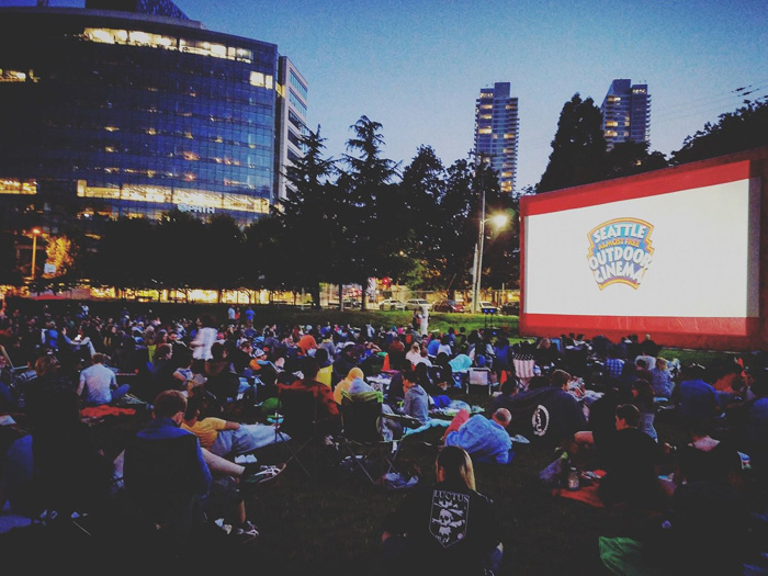 Seattle Outdoor Movies: Summer 2018