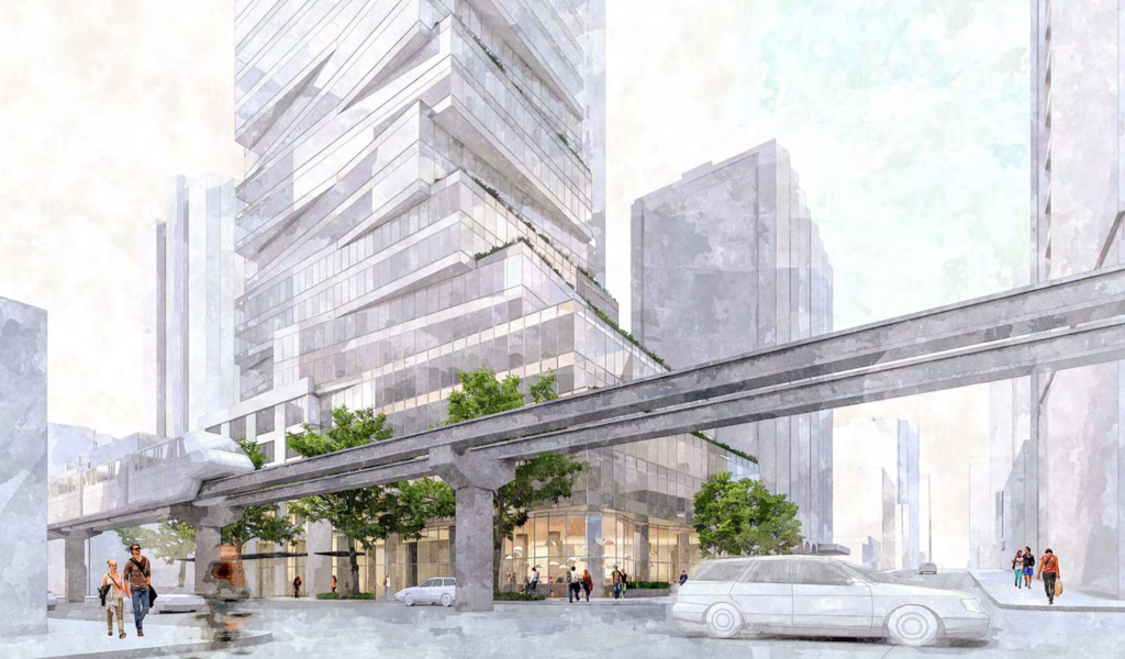 Vulcan Plans for 44-story 5th and Lenora Tower