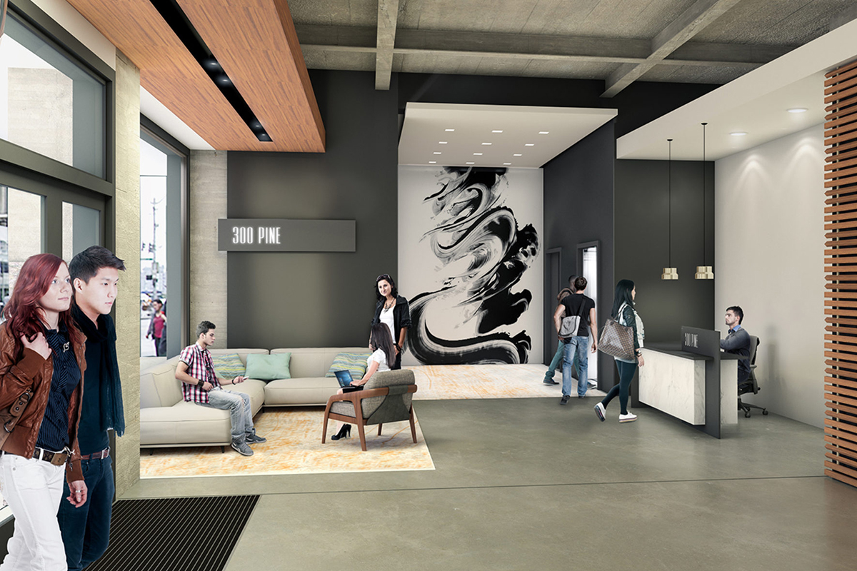 amazon office space. Amazon Leases Office Space At 300 Pine C