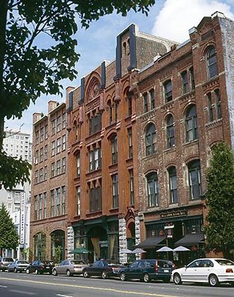 Vintage Building Austin Bell Belltown