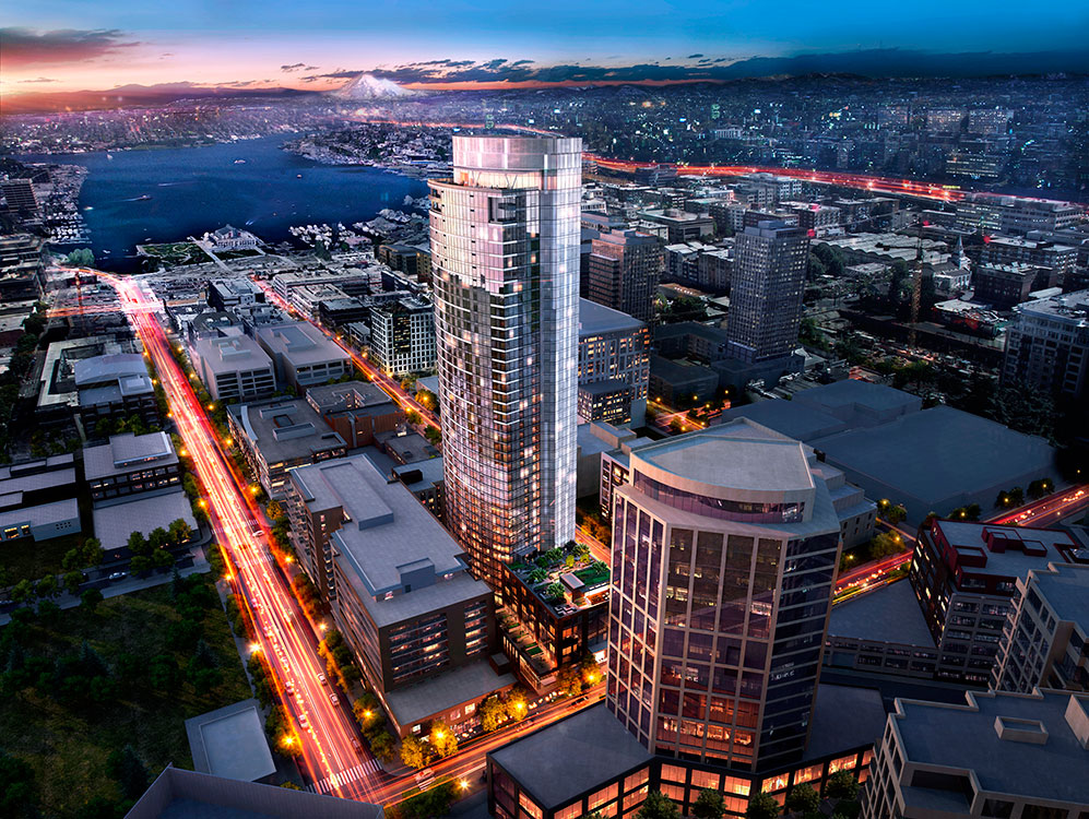 970 Denny - South Lake Union Apartment Tower - UrbanAsh ...