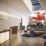 West Edge Tower - 2nd & Pike: Lobby
