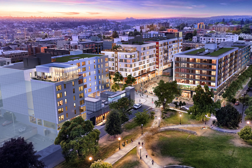 Later this month, on June 19, the Capitol Hill Station development will hold its groundbreaking event with shoring and excavation to follow in July.