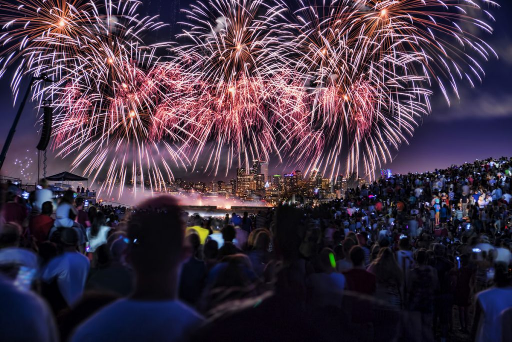 Where to Watch 4th of July Fireworks in Seattle