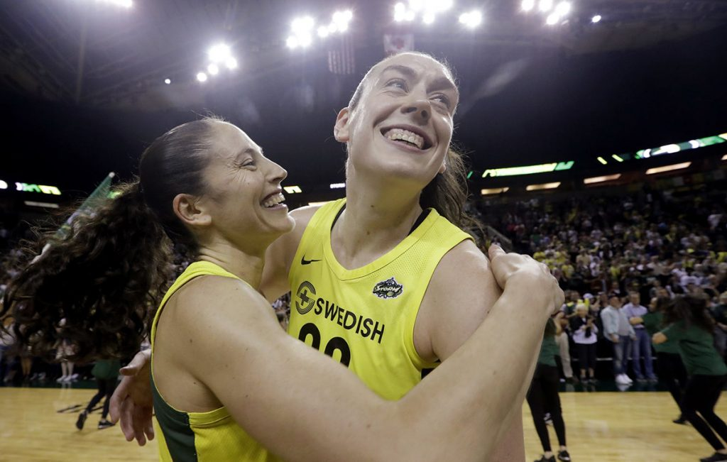 KeyArena: The Seattle Storm will take on the Washington Mystics as they try to bring a third WNBA championship to Seattle.