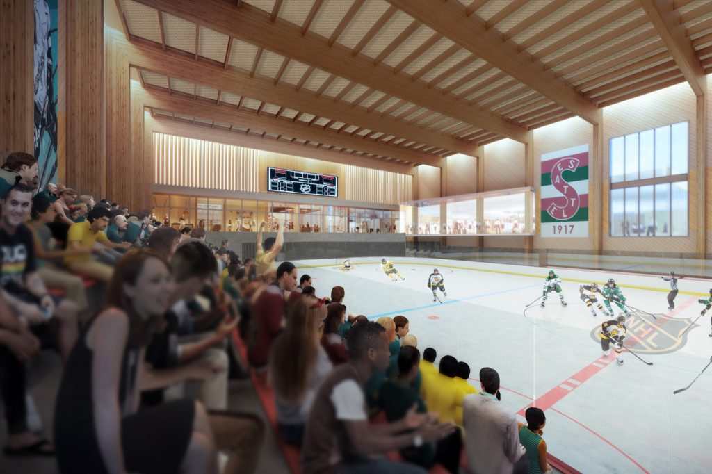 NHL Seattle Plans for Facility/Headquarters at Northgate