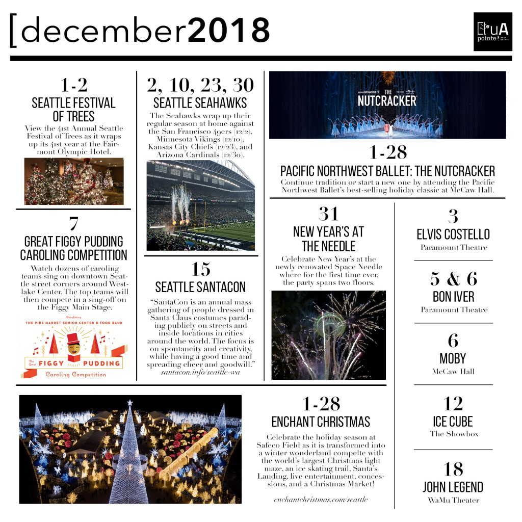 Seattle Event Guide - December 2018