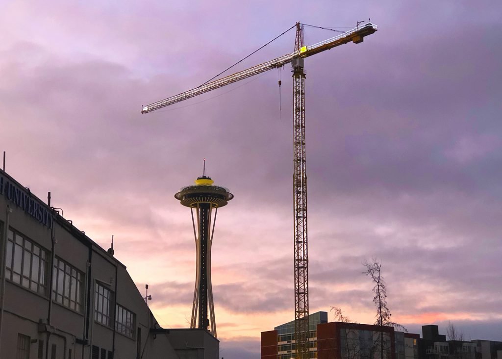 Seattle Remains Crane Capital of the US