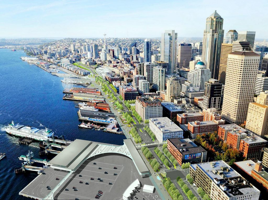 Mayor Durkan Proposes Lower LID Funding for Seattle Waterfront Redevelopment