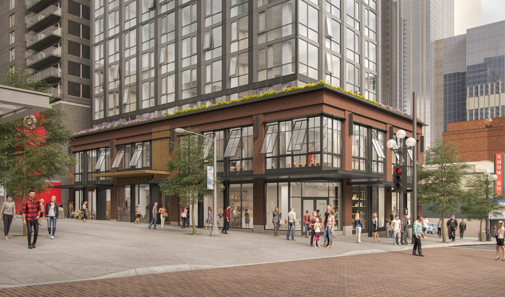 Latest Design for First & Pike Hotel - 103 Pike Street
