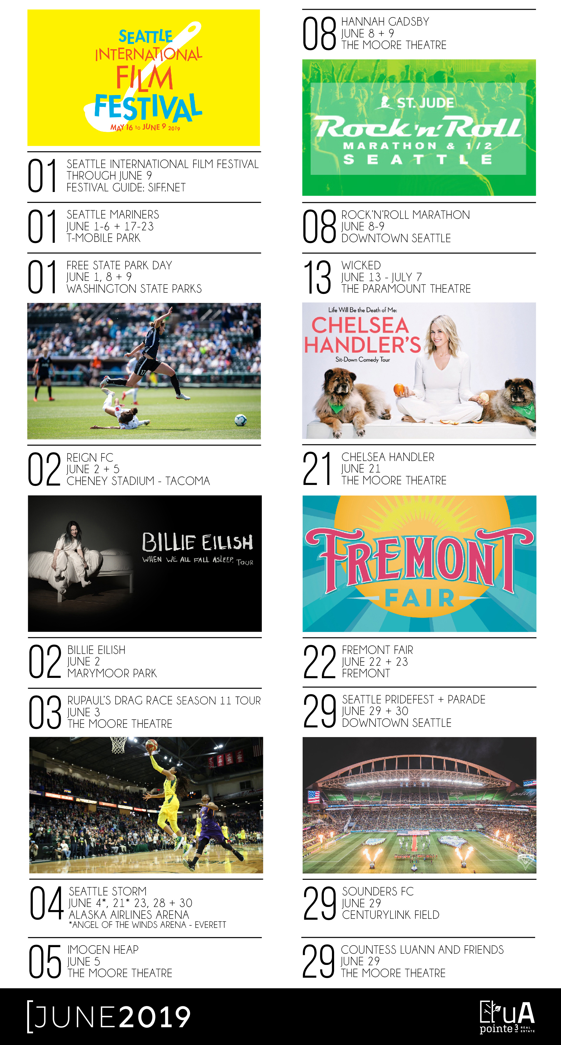 Seattle Event Guide - June 2019
