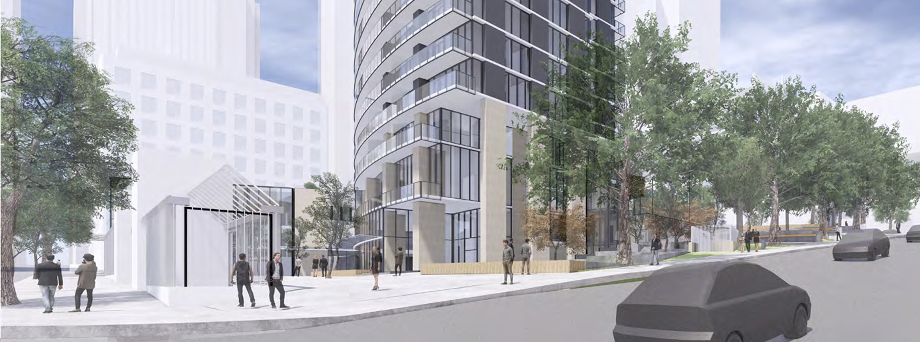 3rd & Cherry Tower Approved at Design Review Meeting