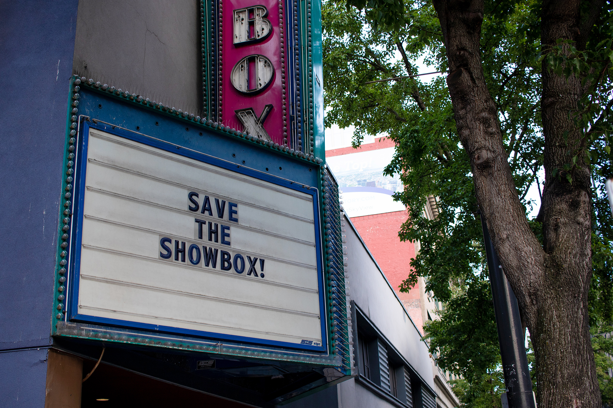 City Landmark Meeting for the Showbox Today