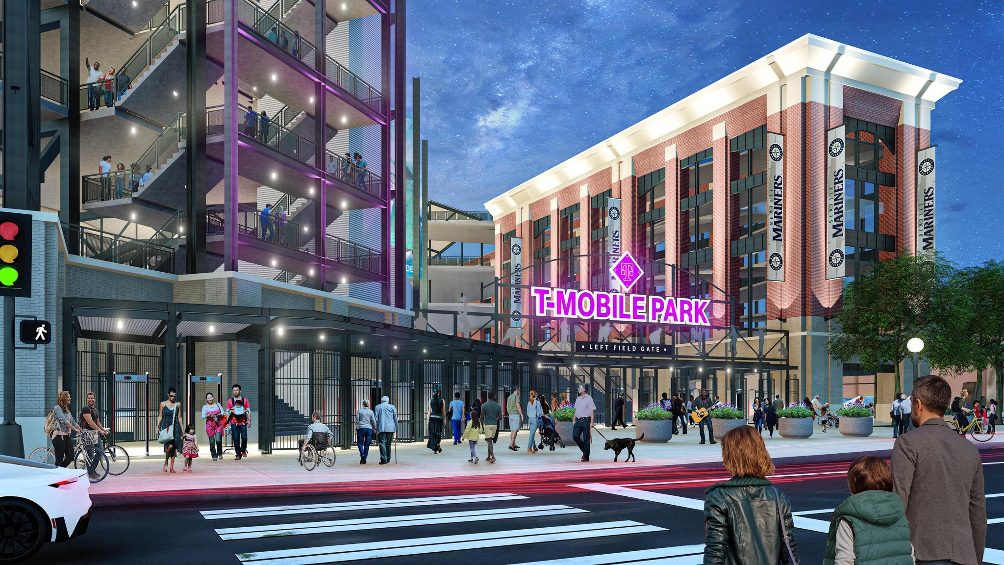 Mariners' $30 Million T-Mobile Park Upgrades