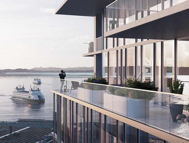 800 Alaskan - 14-Story Waterfront Tower