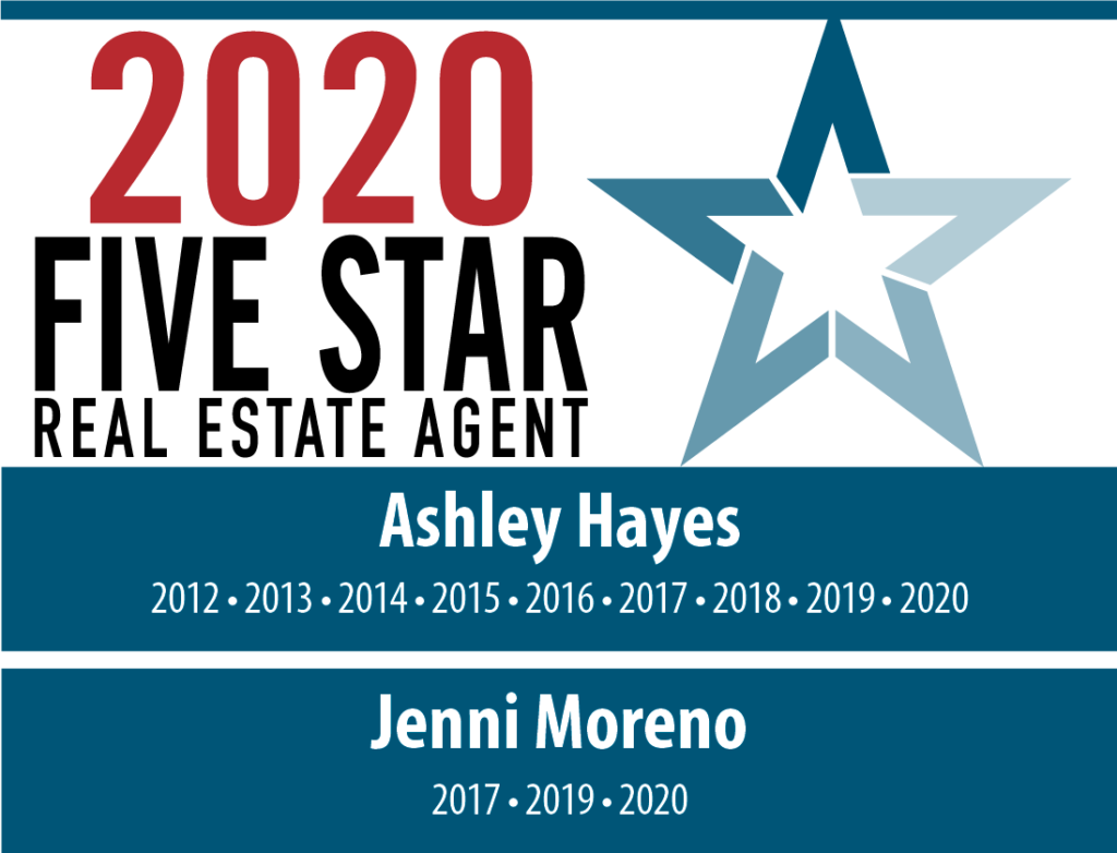 2020 Five Star Real Estate Agent