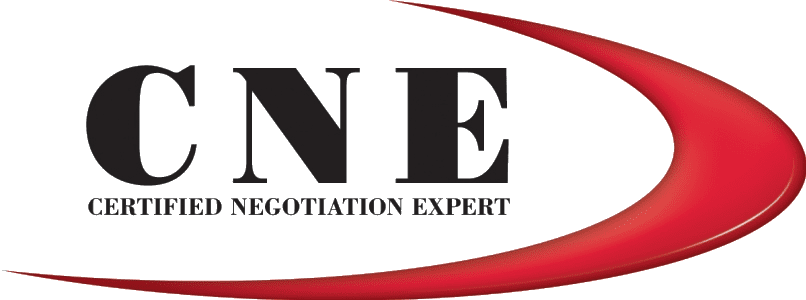 Certified Negotiation Expert CNE Logo